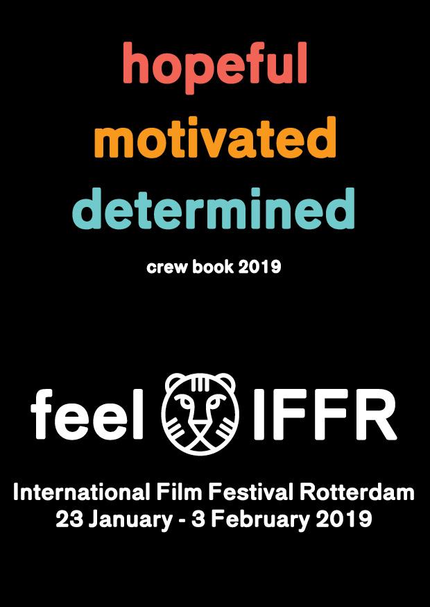 IFFR 2019 Crew Book illustrator Au Men Au+Men Studios Film Festival Graphic Design Tigers Crew Book International Rotterdam Grafisch Ontwerp Nederland English Engels Dutch