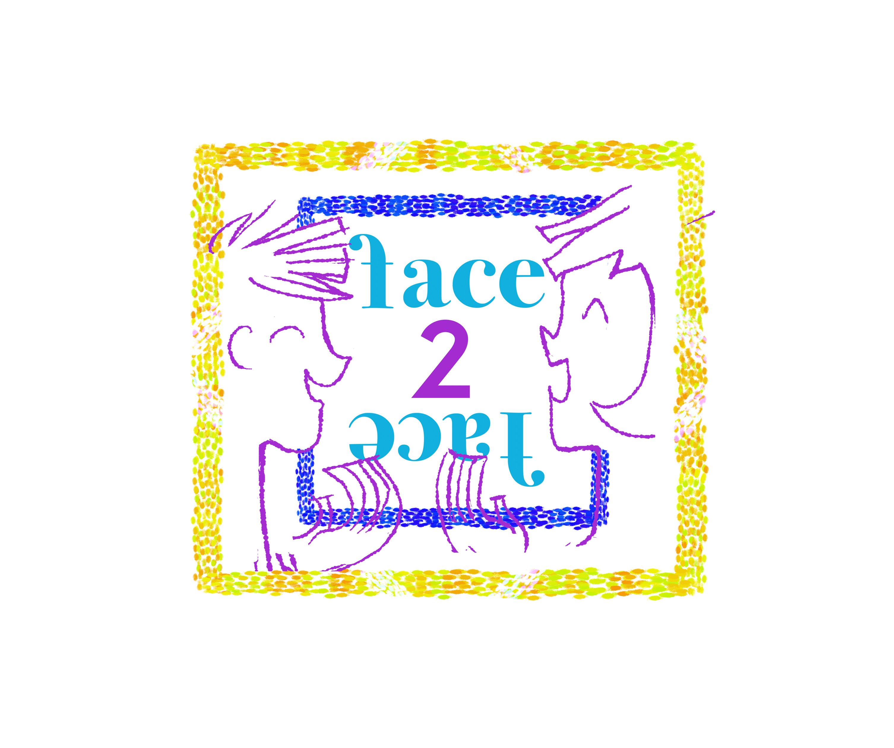 face 2 happy hour illustration graphic design flyer art kunst kunsthal AYCA all you can art groene hilledijk summer camp Rotterdam holland netherlands dutch europa aumen green grafisch ontwerp Au+Men Studios